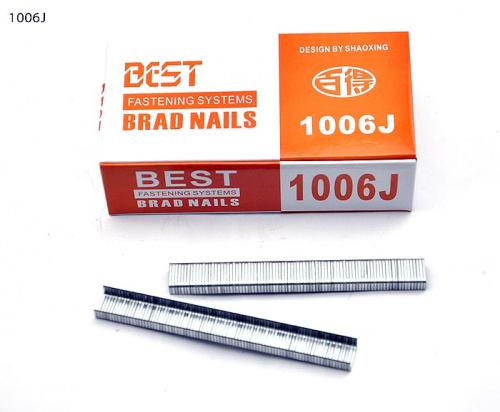 Скоба П-образная 1006J для пневмостеплера (2950 шт)/уп 30/10*6mm