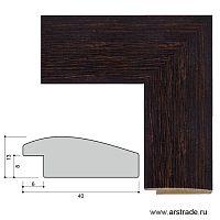 Багет пластиковый 40х13 10028-2 (40V-X048) /уп 156,6м/