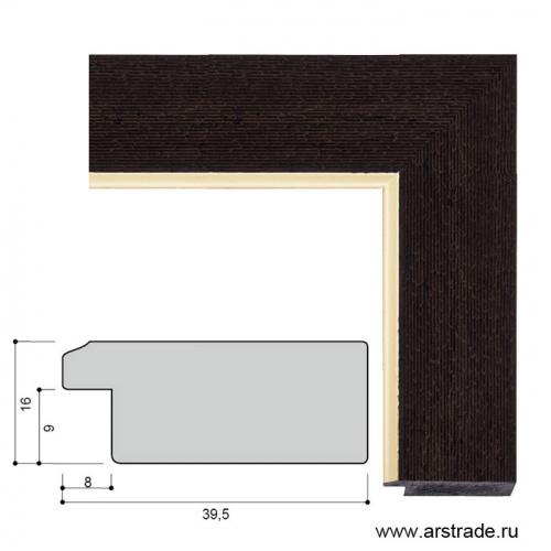 Багет пластиковый 39,5х16 4011C-106A1 /уп 156,6м/А
