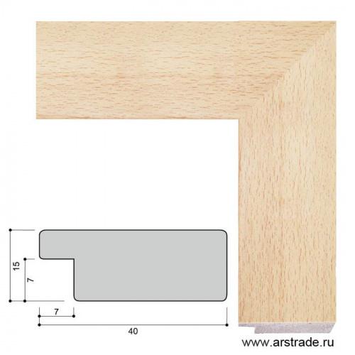 Багет пластиковый 40х15 4026B-173A /уп 156,6м/А