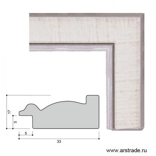 Багет пластиковый 33х17 JR070-380 /уп 203м/