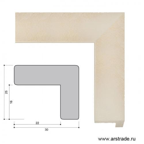 Багет пластиковый 30х25 ZR8471A-45 /уп 185,6м/А