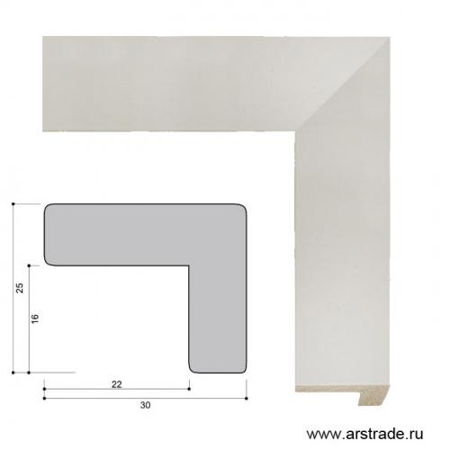Багет пластиковый 30х25 ZR8471A-19 /уп 185,6м/ А