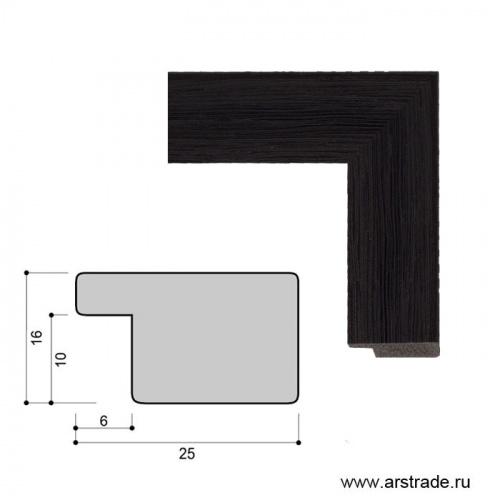 Багет пластиковый 25х16 KS2516-2 /уп 223,3м/