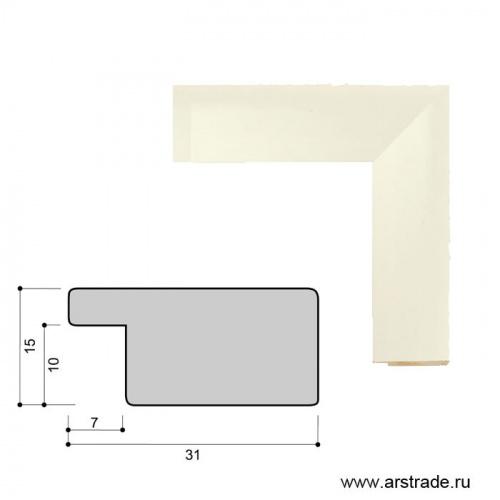 Багет пластиковый 31х15 10200-5 (r685-22) /уп 162,4м/