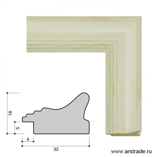 Багет пластиковый 32х19 K3308D-33R /уп 185,6м/