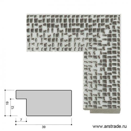 Багет пластиковый 39х19 4038С-012AL2 /уп 98,6м/