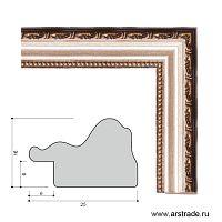 Багет пластиковый 26х16 10024-3 (SA333-036) /уп 234,9м/