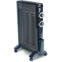 Обогреватель микатермический POLARIS PMH-1584 черный, 1500 Вт, механическое управление, терморегулятор