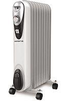 Обогреватель масляный POLARIS CR C 0920 Compact белый, 2000 Вт, 9 секций, механическое управление, терморегулятор