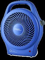 Тепловентилятор спиральный SCARLETT SC-FH53008 синий, 2000 Вт, напольный, терморегулятор, механическое управление, холодный обдув