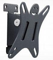 Кронштейн HOLDER LCDS-5002 металлик, 10''-26'', VESA 100x100, наклон 15°, max 25 кг, min: 50 мм, max: 50 мм