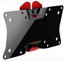 Кронштейн HOLDER LCDS-5060 черный глянец, 19''-32'', VESA 200x100, наклон 5°, max 30 кг, min: 18 мм, max: 18 мм