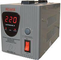 Стабилизатор напряжения РЕСАНТА АСН-500/1-Ц, 500Вт, релейный, цифровой, напольный, однофазный, min вход: 140 В, max вход: 260 В