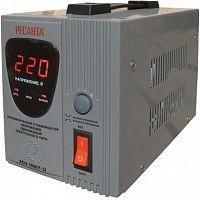 Стабилизатор напряжения РЕСАНТА АСН-1000/1-Ц, 1000Вт, релейный, цифровой, напольный, однофазный, min вход: 140 В, max вход: 260 В