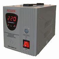 Стабилизатор напряжения РЕСАНТА АСН-1500/1-Ц, 1500Вт, релейный, цифровой, напольный, однофазный, min вход: 140 В, max вход: 260 В