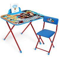 Комплект детской мебели НИКА Marvel 5 Д5А Мстители Тор, два положения высоты стола 58 см и 62,5 см, пенал