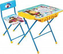 Комплект детской мебели НИКА Азбука 2 КПУ2П/2 Маша и Медведь