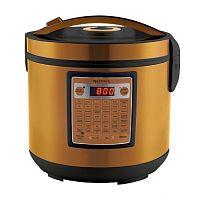 Мультиварка CENTEK CT-1495 золото/черный, 900 Вт, 5 л, программ: 42, 3D-нагрев, йогуртница