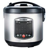 Мультиварка ENDEVER Vita-90 черный/серый, 980 Вт, 5 л, программ: 42, йогуртница