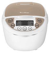 Мультиварка MOULINEX MK 706A32 белый/бежевый, 750 Вт, 5 л, программ: 9, йогуртница