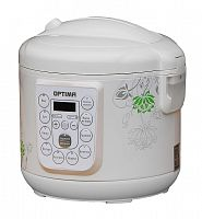 Мультиварка OPTIMA MC-R450 белый, 900 Вт, 5 л, программ: 10, йогуртница