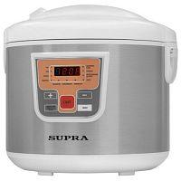 Мультиварка SUPRA MCS-5110 белый/серебро, 900 Вт, 5 л, программ: 11, йогуртница