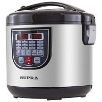 Мультиварка SUPRA MCS-5112 черный/серебристый, 900 Вт, 5 л, программ: 11, йогуртница
