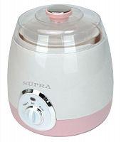 Йогуртница SUPRA YGS-7001 белый/розовый, 15 Вт 1000 мл