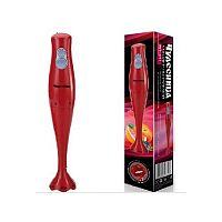 Блендер погружной ЧУДЕСНИЦА БП-411 красный, 600 Вт, погружная часть: пластик, кол-во скоростей: 2