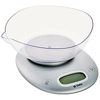 Весы кухонные DELTA KCE-34 серебристый, электронные, 5 кг, 1 гр, пластик, чаша