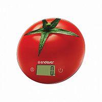 Весы кухонные ENDEVER KS-520 красный, 5 кг, 1 гр, стекло, платформа