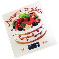 Весы кухонные Василиса ВА-006 ''лучшая хозяйка'', электронные, 5 кг, 1 гр, стекло, платформа