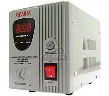 Стабилизатор напряжения РЕСАНТА АСН-2000/1-Ц, 2000Вт, релейный, цифровой, напольный, однофазный, min вход: 140 В, max вход: 260 В