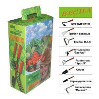 Набор садового инструмента Дачник 7 предметов, ручка пластик