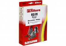 Мешок-пылесборник FILTERO FLS-01 (S-bag) Standard (1уп.-5шт.) бумажные + микрофильтр