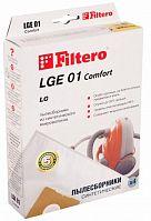 Мешок-пылесборник FILTERO LGE-01 Comfort (1уп.-4шт.) синтетические