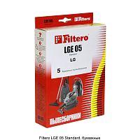 Мешок-пылесборник FILTERO LGE-05 Standard (1уп.-5шт.) бумажные