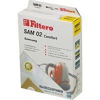 Мешок-пылесборник FILTERO SAM-02 Comfort (1уп.-4шт.) синтетические