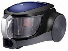 Пылесос LG VK76A06NDBP синий, 1600 Вт (350 Вт), контейнер 1,5 л., сухая уборка, составная труба