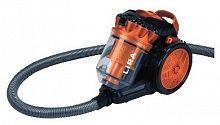Пылесос LIRA LR 1006 оранжевый, 2200 Вт (350 Вт), контейнер 2,2 л., сухая уборка, составная труба