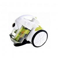Пылесос MAGNIT RMV-1802 белый/зеленый, 1450 Вт, контейнер 2 л., сухая уборка, телескопическая труба