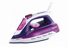 Утюг CENTEK CT-2354 фиолетовый, 2600 Вт, керамика, паровой удар, верт. отпаривание, разбрызгивание, самоочистка
