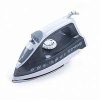 Утюг ENDEVER SkySteam-711 белый/серый, 1600 Вт, нерж., подача пара 30 г/мин, паровой удар 130 г/мин, верт. отпаривание, разбрызгивание
