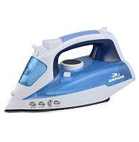 Утюг ДОБРЫНЯ DO-3110 белый/голубой, 2200 Вт, нерж., подача пара, паровой удар, верт. отпаривание, разбрызгивание, самоочистка