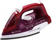 Утюг CENTEK CT-2347 красный, 1800 Вт, антипригарная, подача пара, паровой удар, верт. отпаривание, разбрызгивание, самоочистка