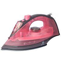 Утюг Василиса ВА-2001 розовый/коричневый, 2200 Вт, антипригарная, подача пара, паровой удар, разбрызгивание, самоочистка