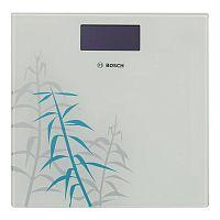 Весы напольные электронные BOSCH PPW 3303 белый, стекло, 180 кг