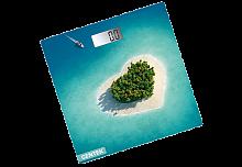 Весы напольные электронные CENTEK СТ-2428 ''Остров'', стекло, 180 кг