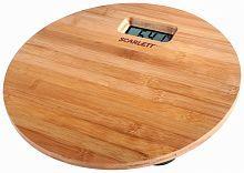 Весы напольные электронные SCARLETT SC-BS33E061 (бамбук) дерево, дерево, 180 кг